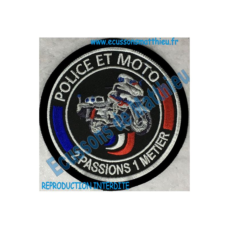 Écusson Motocycliste Mobile Brodé