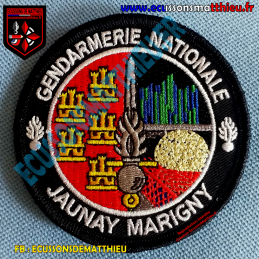Gendarmerie Jaunay Marigny...