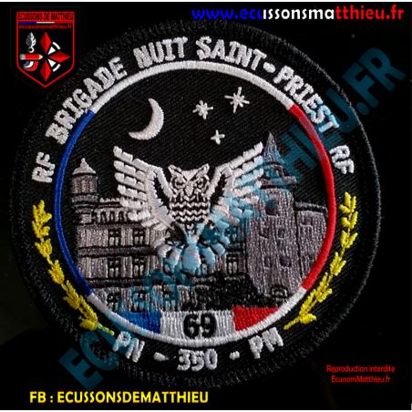Brigade Nuit Saint-Priest 69 Police Nationale et Municipale