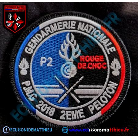 """P M G Gendarmerie 2P """"Rouge de Choc"""""""