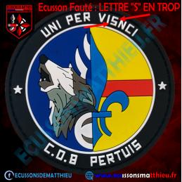 Ecusson Gendarmerie PVC -...