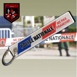 """Porte clés """"RUBALISE POLICE..."""
