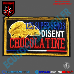 "CHOCOLATINE ""Patch déco GPB"""
