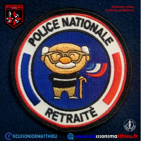 Papy Cool Retraité Police