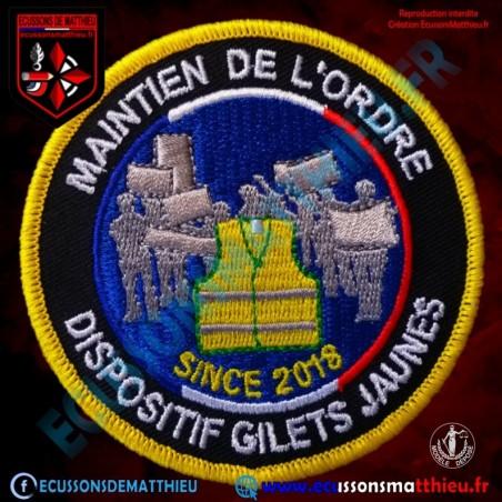 MAINTIEN DE L ORDRE Version SINCE 2018
