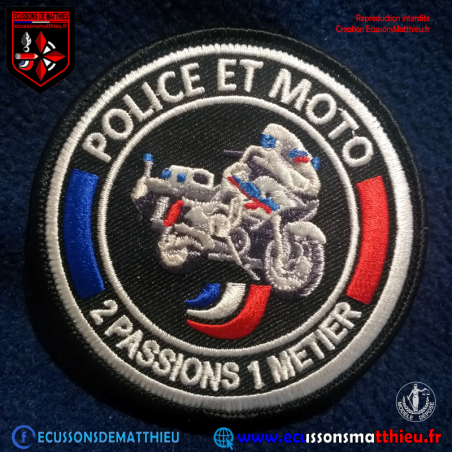 Passion Moto Police Nationale