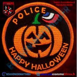 HALLOWEEN Citrouille Police